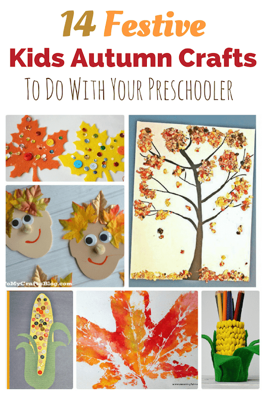 14 Festive Kids Autumn Crafts To Do With Your Preschooler