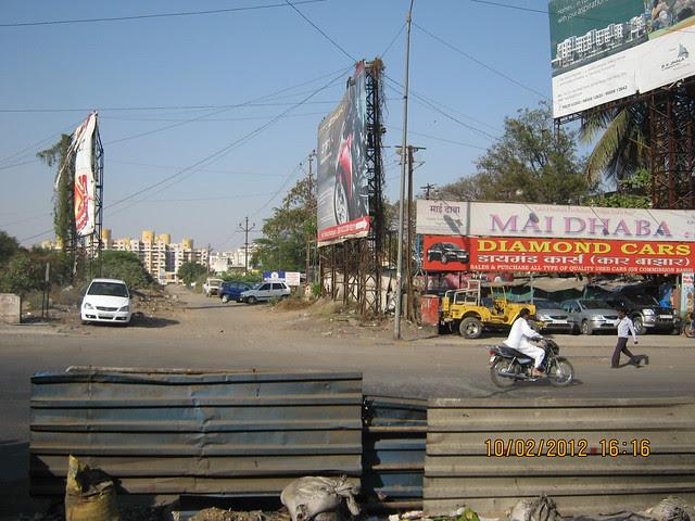 Diamond Cars & Road to Kumar Properties' Kumar Purab, off Pune Solapur Road, Hadapsar, Pune 411 028