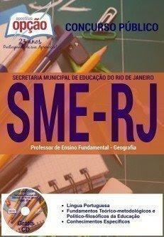 Apostila SME RJ Professor Geografia e Matemática (Rio) SME/RIO
