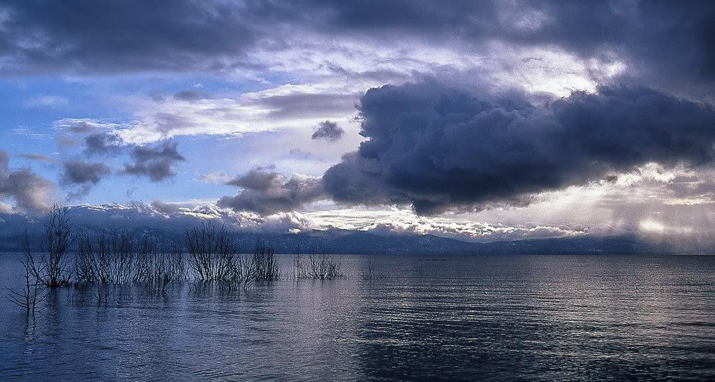 Storm Clearing Lake Tahoe