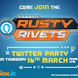 Join us for a fun Rusty Rivets Twitter Party #RustyRivetsUK - U me and the kids