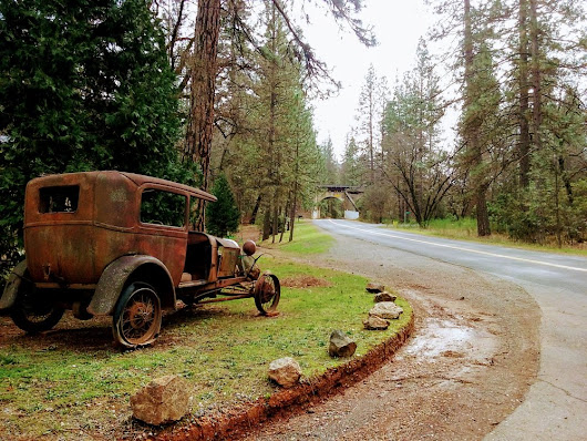 Lincoln Highway, Applegate, CA.