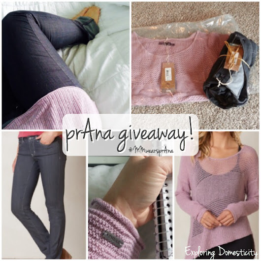 prAna Sustainable Clothing – GIVEAWAY!