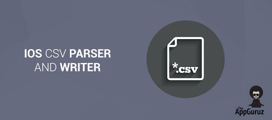 #iOS #CSV #Parser and Writer