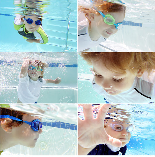 How to Take Underwater Photos of your Kids in the Pool?