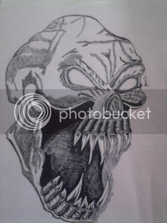 Dibujos De Rosas Y Calaveras A Lapiz Imagui