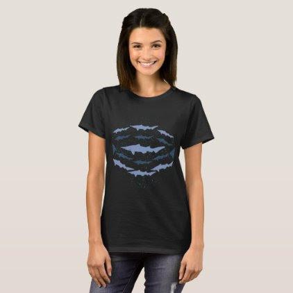 Goblin Shark Marine Biology Art T-Shirt