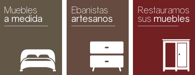 Carpintero y maestro ebanista con taller artesano en Zaragoza