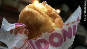 Dunkin' Donuts was born after its founder tried delivering breakfast, lunch to factory workers.