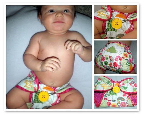 Quilted Diaper Cover for the Project QUILTING Non-Quilt Challenge