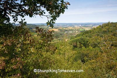 Wisconsin Countryside, Trempealeau County, Wisconsin