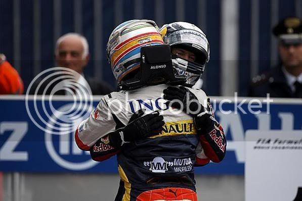 GP Italia 2008 Vettel - Alonso