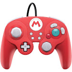 PDP Fight Pad Pro Wired Controller for Nintendo Switch - Red Mario