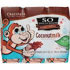 So Delicious Chocolate Coconutmilk - 6 pack, 8 fl oz cartons