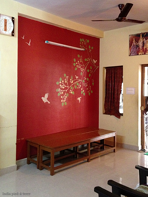 Painting and Stenciling in India | Nomadic Decorator