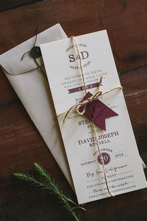 DIY Wedding Invitations: 10 Unusual Ways to Do it Yourself