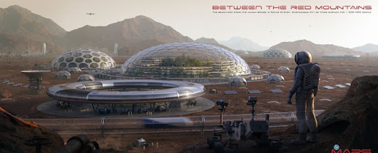These Jaw-Dropping Mars Habitat Concepts Make Us Want to Go There Right Now