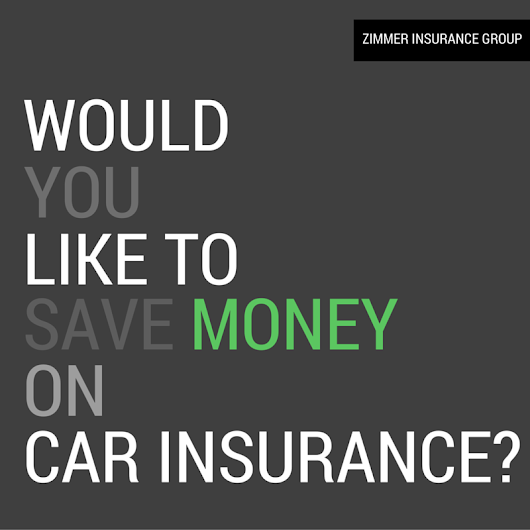 How to save money on car insurance.