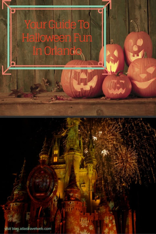 Guide To Halloween Events At Orlando's Theme Parks