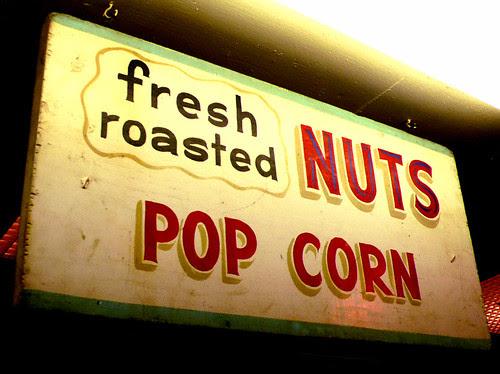 fresh roasted nuts