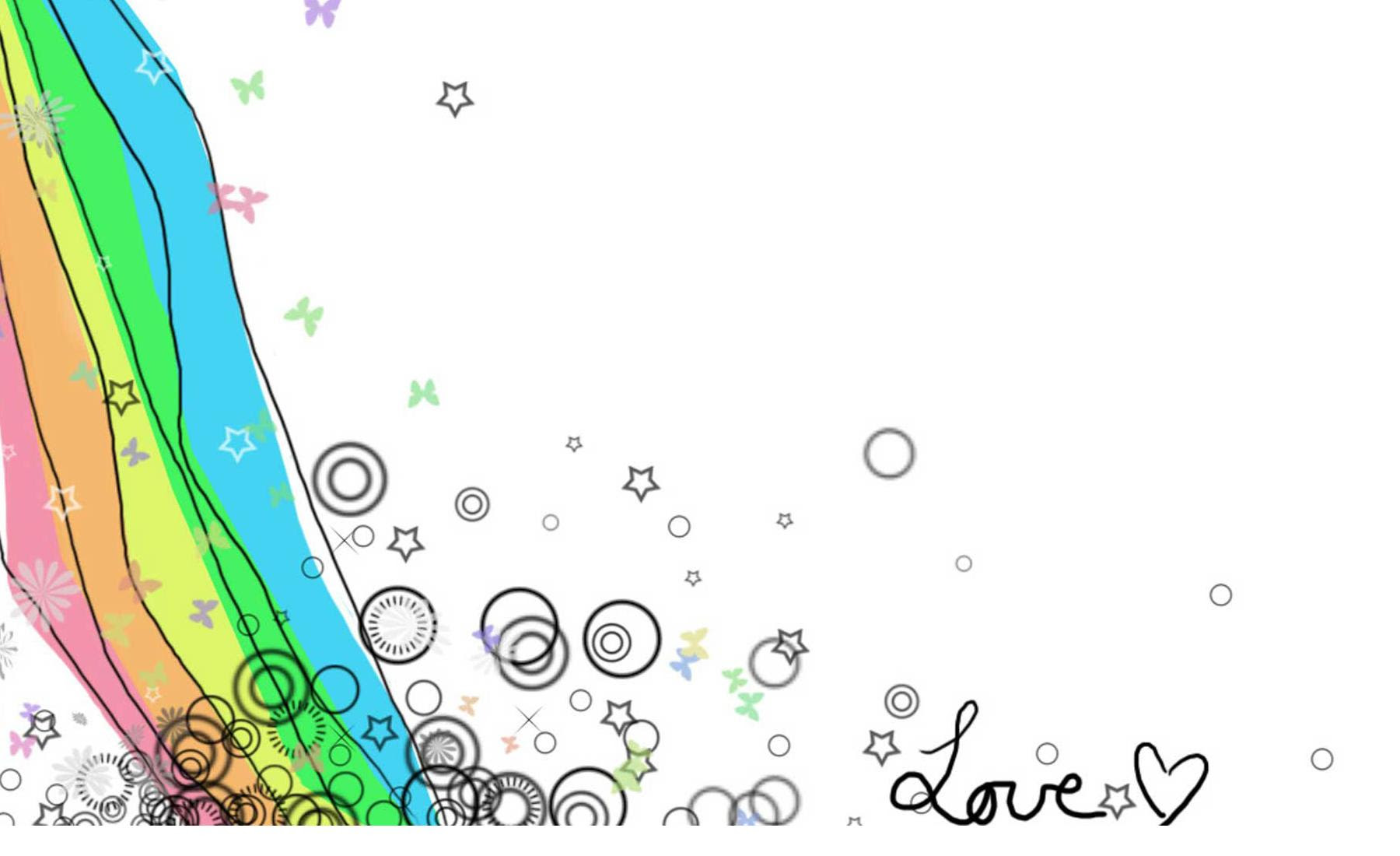 Hand Drawn Love Free Ppt Backgrounds For Your Powerpoint Templates