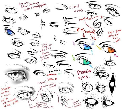 realistic anime eyes drawing tutorial deviantart moli