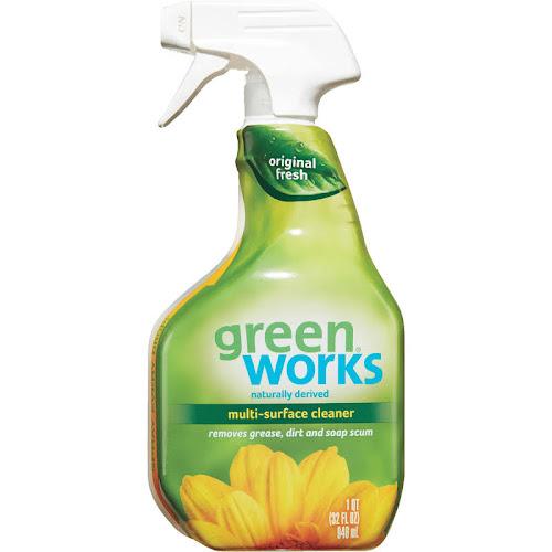 Green Works Cleaner, All Purpose, Original - 32 fl oz