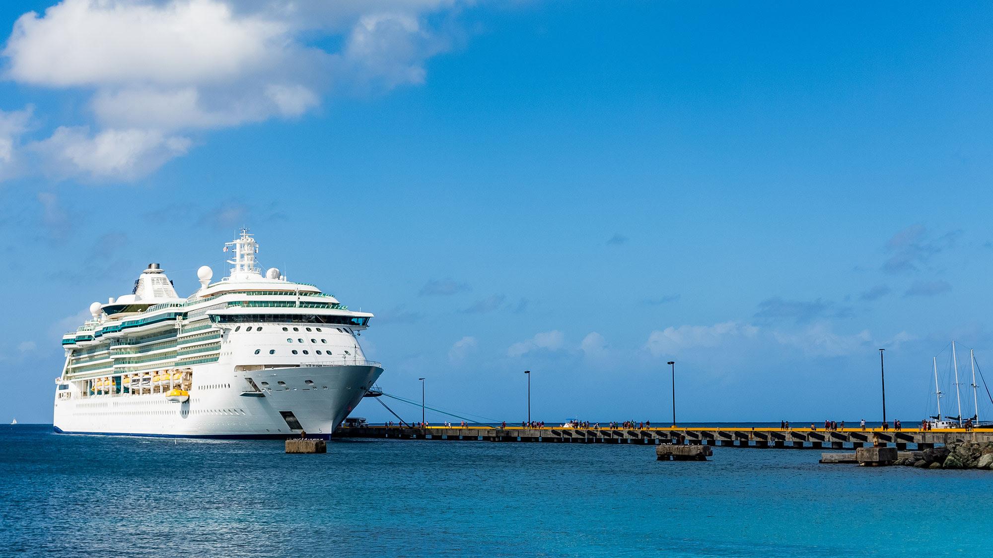 St Croix cruise pier