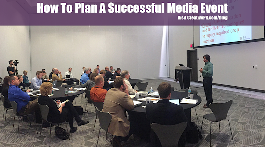 How To Plan A Successful Media Event