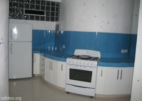 Cozinhas planejadas em canto redondo