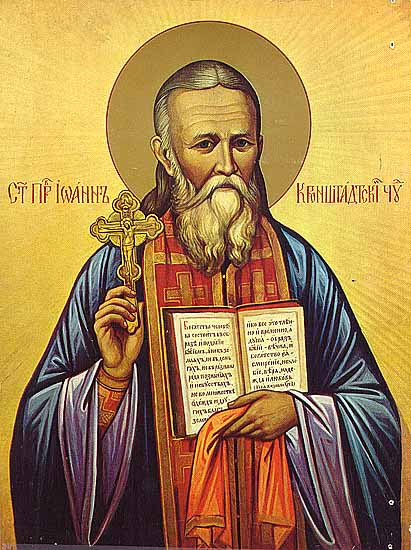 St. John of Kronstadt day