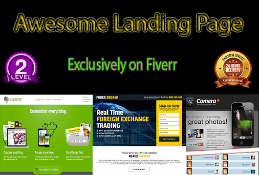 webtechshouse : I will design landing page or squeeze page for $5 on www.fiverr.com