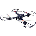 My Funky Planet G160029 Xdrone HD 2 Remote Controlled Quadcopter