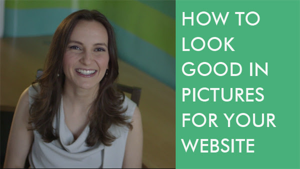 How to look good in pictures for your website