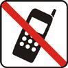 Proibido o uso de telefones celulares