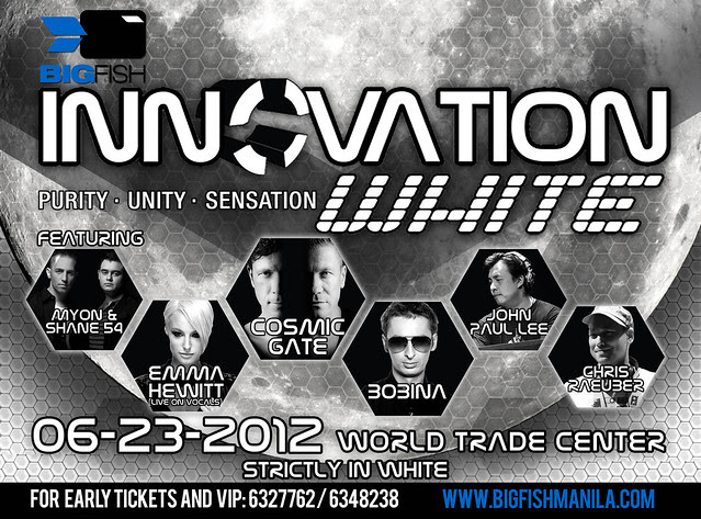 Innovation White 2012 poster horizontal