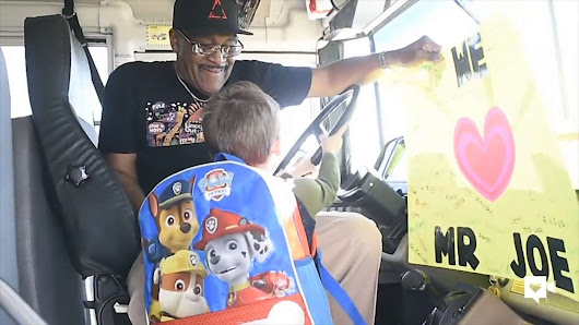 Kids are this Grammy-winning bus driver's biggest fans