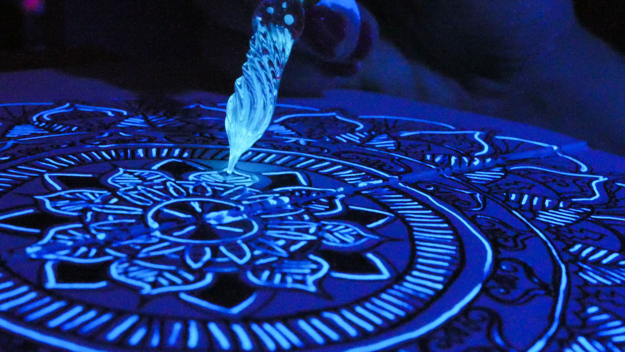 Using Black Light Ink In Artwork Arcane Objects