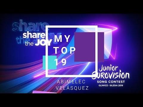 JUNIOR EUROVISION 2019 | MY TOP 19