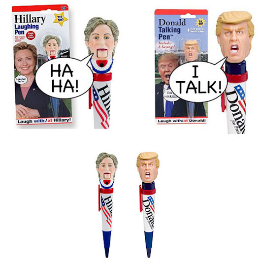 Top 10 Wackiest Political Promotional Products