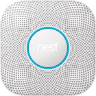 Nest Protect Smoke Sensor - Wi-Fi/Bluetooth 4.0 LE - Android/iOS - White