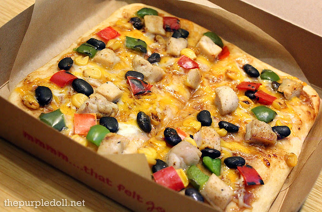 Smokehouse Chicken California Flatbread P140