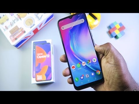 Tecno Camon 12 Unboxing And Initial Impression (Video)