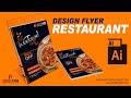 Cara Design Flyer Restaurant dengan Adobe Illustrator | Revenge Studio