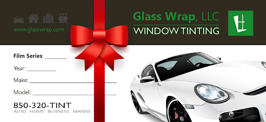 Window Tinting Gift Certificates in Pensacola