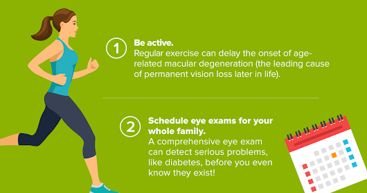 Infographic: 8 Tips for Healthier Eyes This Year