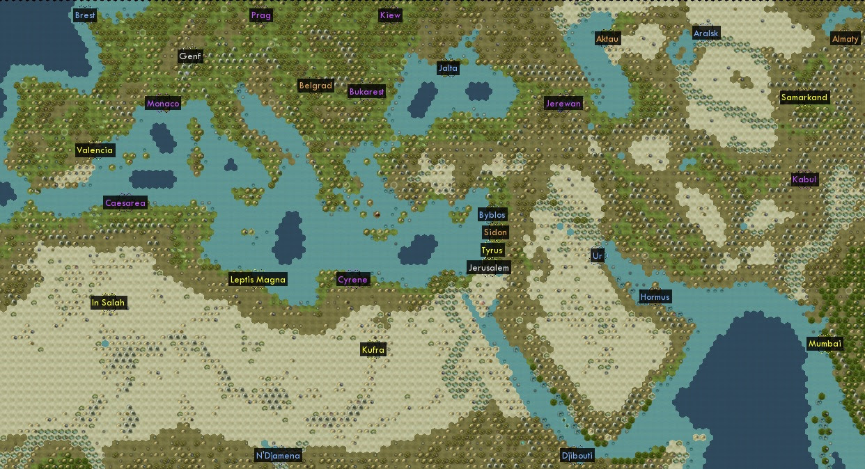 Civ 5 Europe Map | World Map Gray Civ Earth Map on