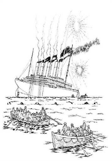 Kids-n-fun.de | 30 Ausmalbilder von Titanic