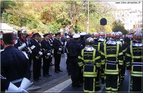 Lyon, Commémoration catastrophe de Fourvière