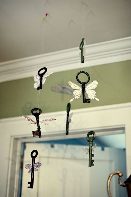 Creativity is only a State of Mind: Butterfly keys dancing with Amazing Casting Products